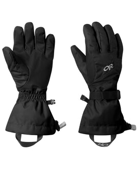 Outdoor Research Womens Adrenaline Ski Gloves - Black