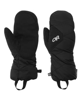 Outdoor Research Mens Phosphor Mitts - Black