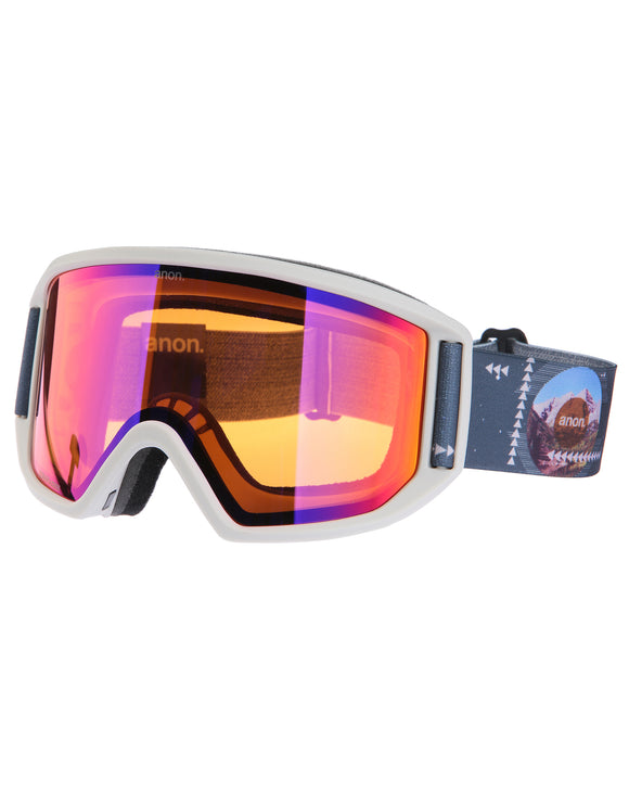 Anon Mens Relapse Ski Goggle with Spare Lens - Rush Sonar Infrared