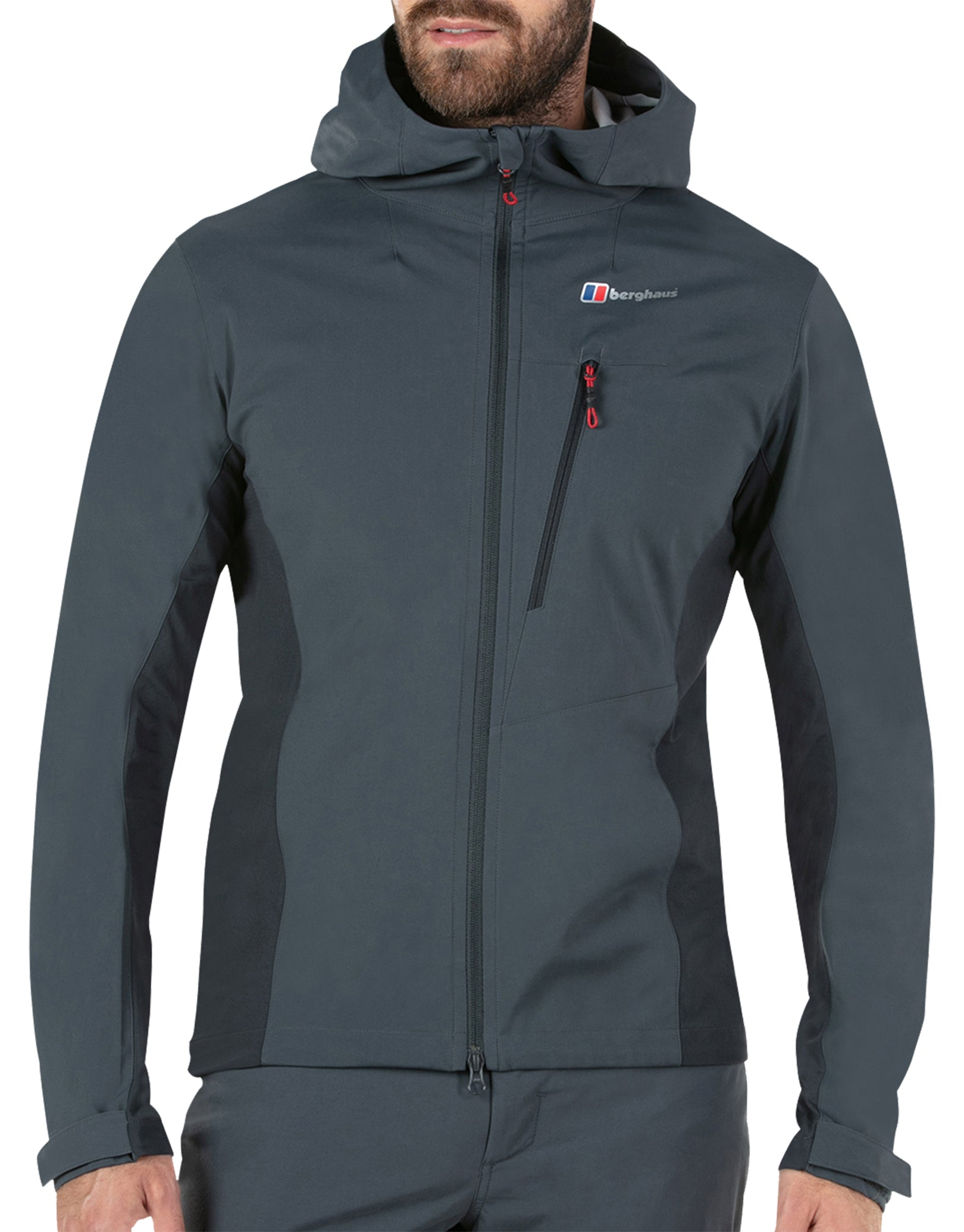 70acfe8d852 Berghaus Mens Taboche Softshell Jacket - Carbon | Simply Hike UK