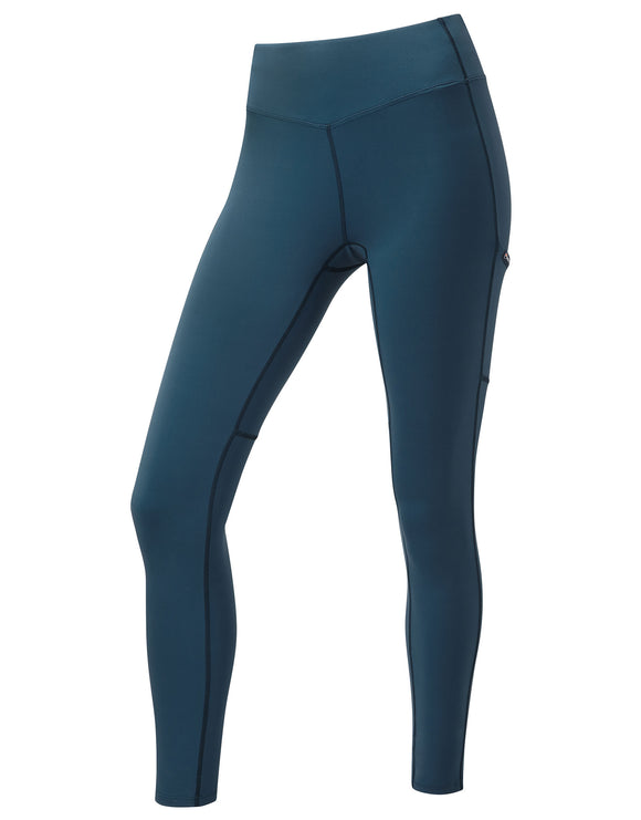 Montane Womens Ineo Lite Trousers - Narwhal Blue