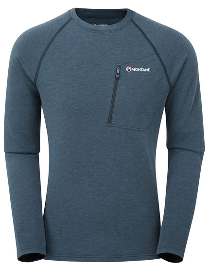 Montane Mens Viper Pullover - Narwhal Blue