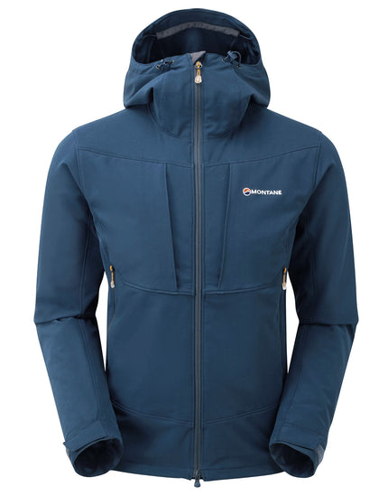Montane Mens Dyno Stretch Jacket - Narwhal Blue