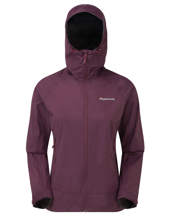 Montane Womens Atomic Jacket - Saskatoon Berry