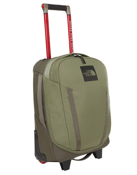 The North Face Overhead 19 Wheeled Suit Case - New Taupe Green