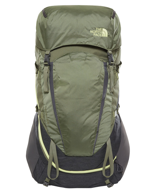 The North Face Womens Terra 55 Rucksack - TNF Grey Four Leaf Clover