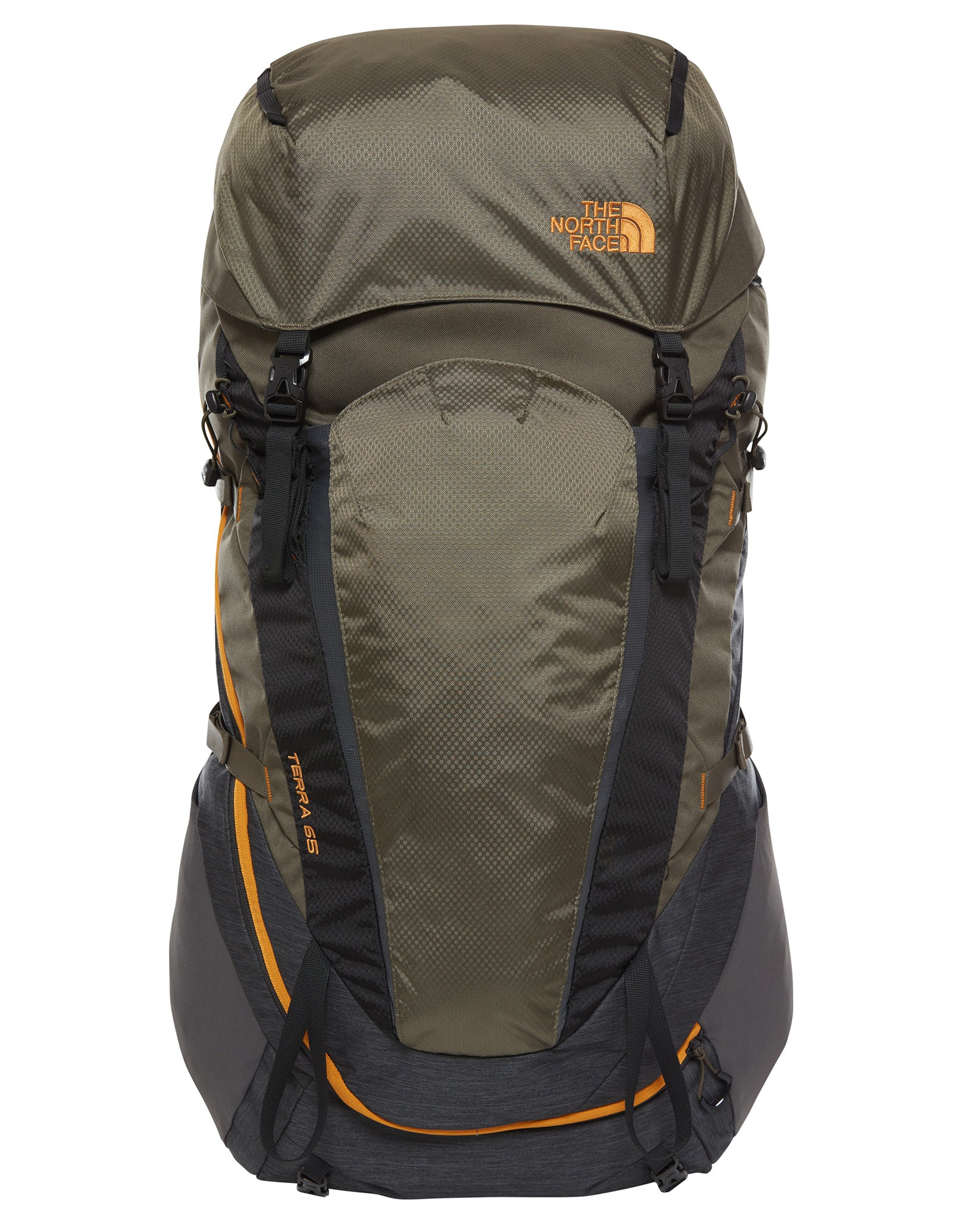 huge discount ca972 ced49 Terra 65 Rucksack - Dark Grey Heather/New Taupe Green