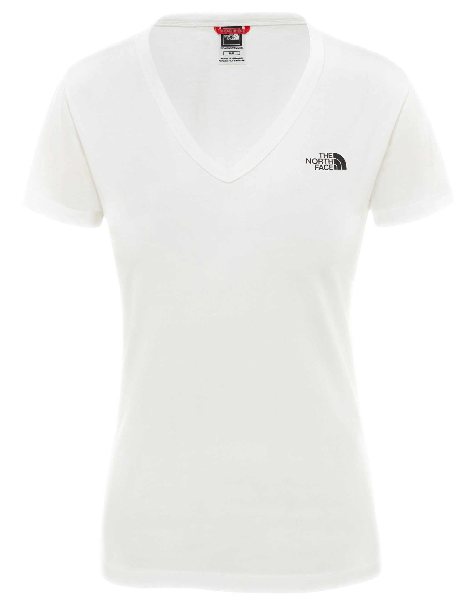 81c96eac The North Face Womens SS Simple Dome T Shirt - TNF White | Simply ...
