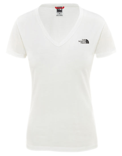 The North Face Womens SS Simple Dome T Shirt - TNF White