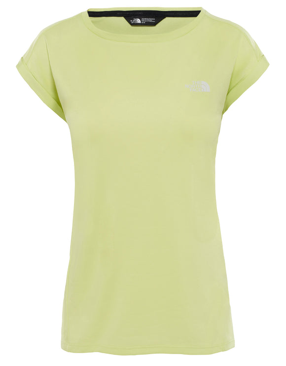 The North Face Womens Tanken Tank T Shirt - Exotic Green