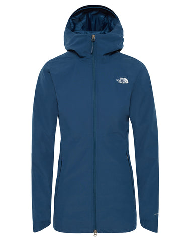 85de49c656 The North Face Womens Mezzaluna Full Zip Hoodie - Storm Blue Stripe ...
