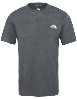 27d1a3542a The North Face Mens Reaxion Amp Crew T Shirt - TNF Dark Grey Heather