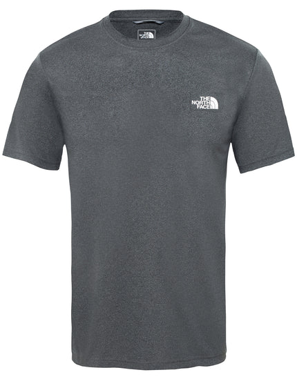 The North Face Mens Reaxion Amp Crew T Shirt - TNF Dark Grey Heather