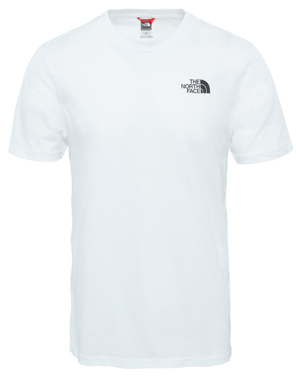 The North Face Mens SS Simple Dome T Shirt - TNF White