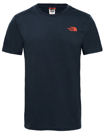The North Face Mens SS Simple Dome T Shirt - Urban Navy