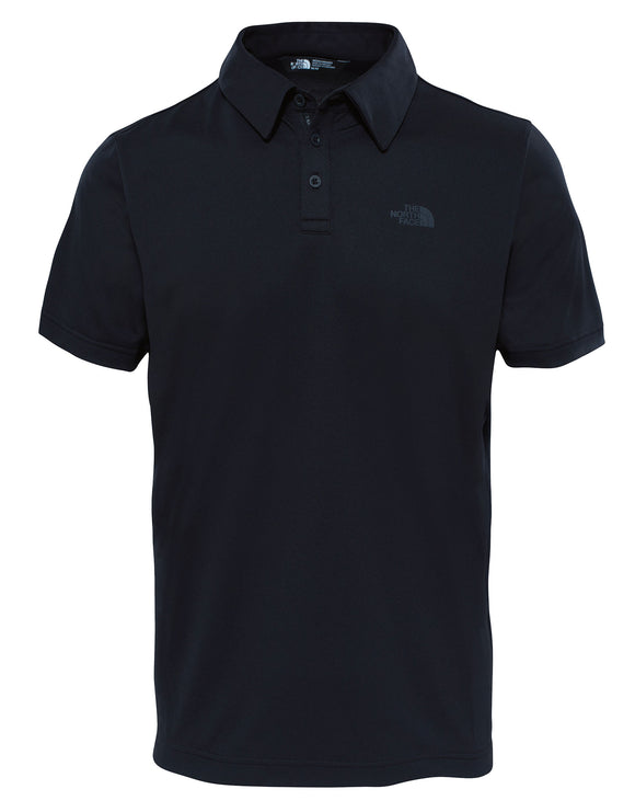 The North Face Mens Tanken Polo T Shirt - TNF Black