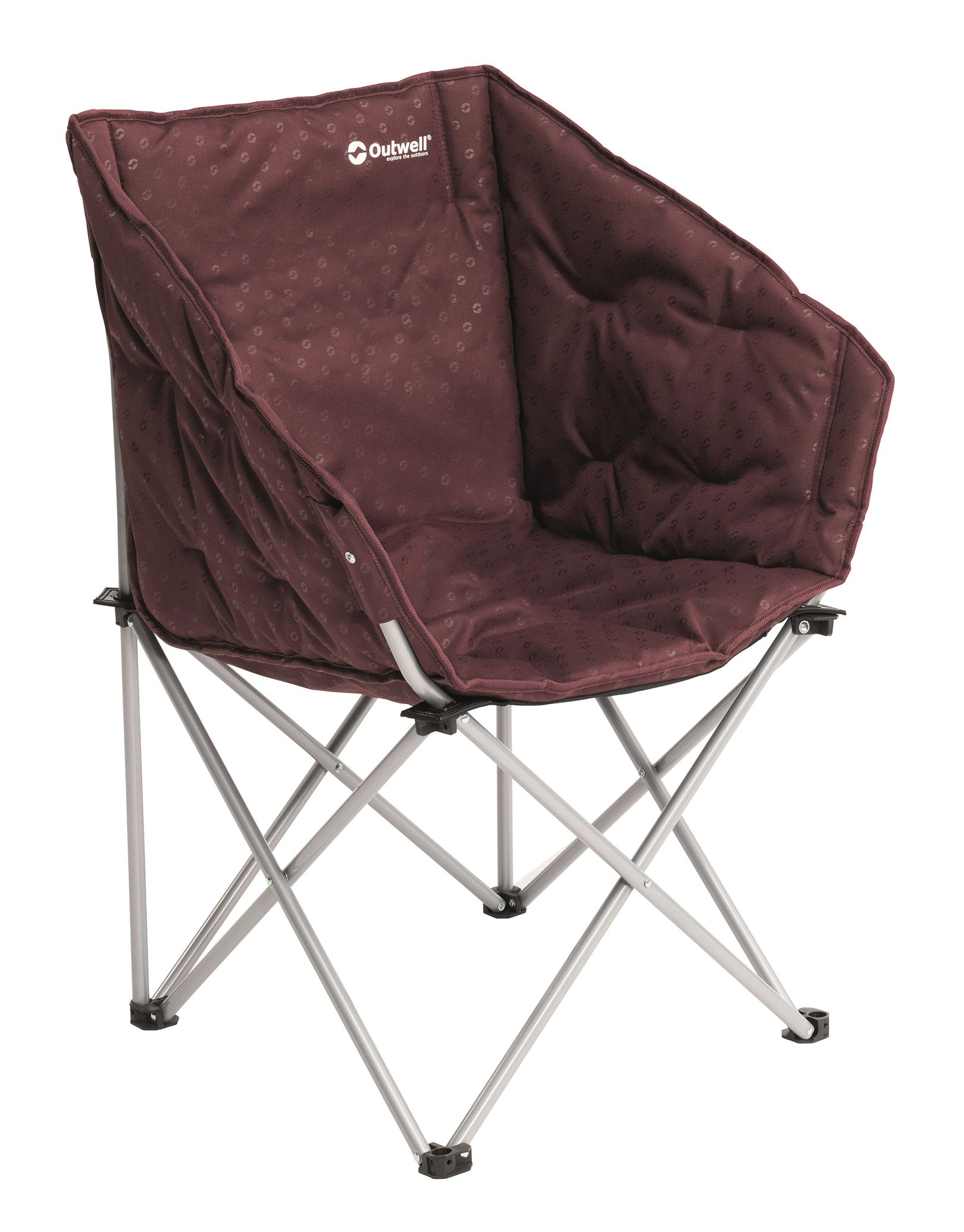 Image of Outwell Angela Camping Chair - Claret