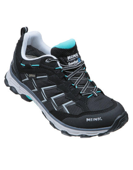 Meindl Womens Activo GTX Trail Shoe - Black and Green