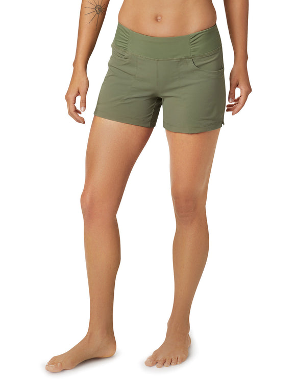 Mountain Hardwear Womens Dynama Short - Light Army
