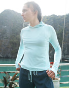 Mountain Hardwear Womens Crater Lake Hoody - Eddy