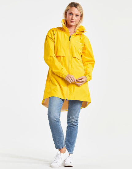 Didriksons Womens Milly Parka Jacket - Yellow