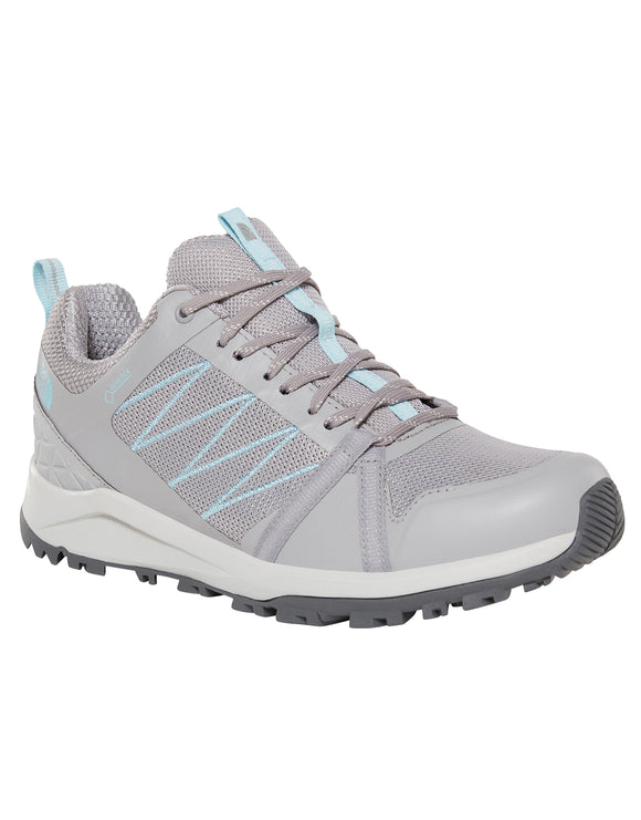 The North Face Womens Litewave Fastpack II GTX Trail Shoe - Meld Grey