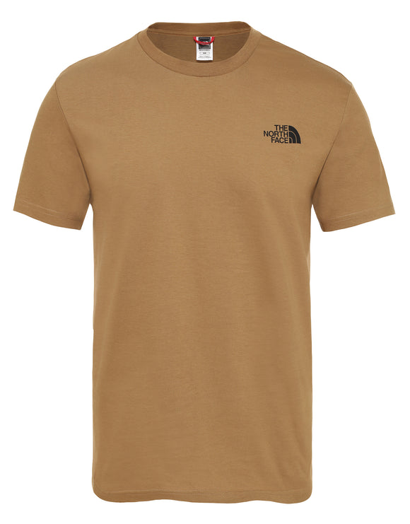 The North Face Mens SS Simple Dome T Shirt - British Khaki