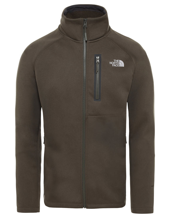 The North Face Mens Canyonlands Softshell Hoodie - New Taupe Green Heather