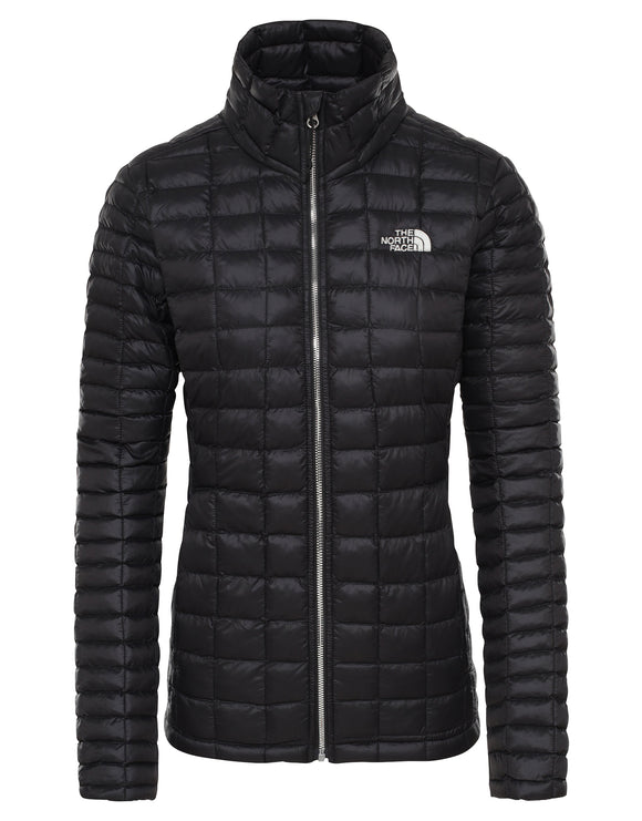 The North Face Womens ThermoBall Eco Full Zip Jacket - TNF Black