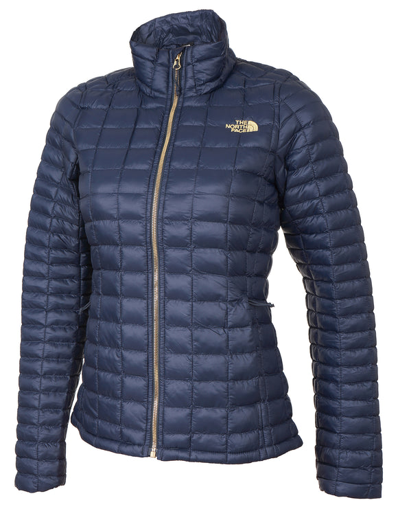 The North Face Womens ThermoBall Eco Full Zip Jacket - Urban Navy
