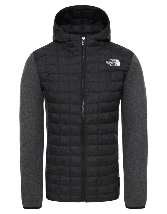 The North Face Mens ThermoBall Gordon Lyons Hoodie - TNF Black Heather