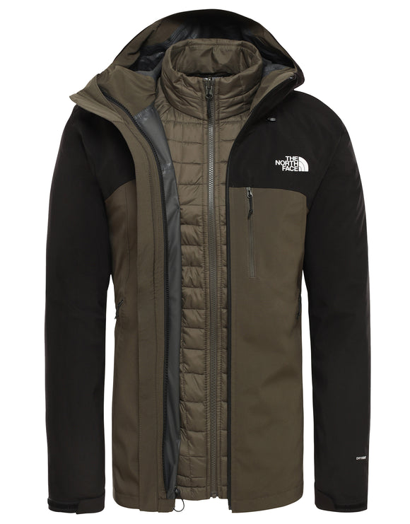 The North Face Mens ThermoBall Triclimate Jacket - New Taupe Green