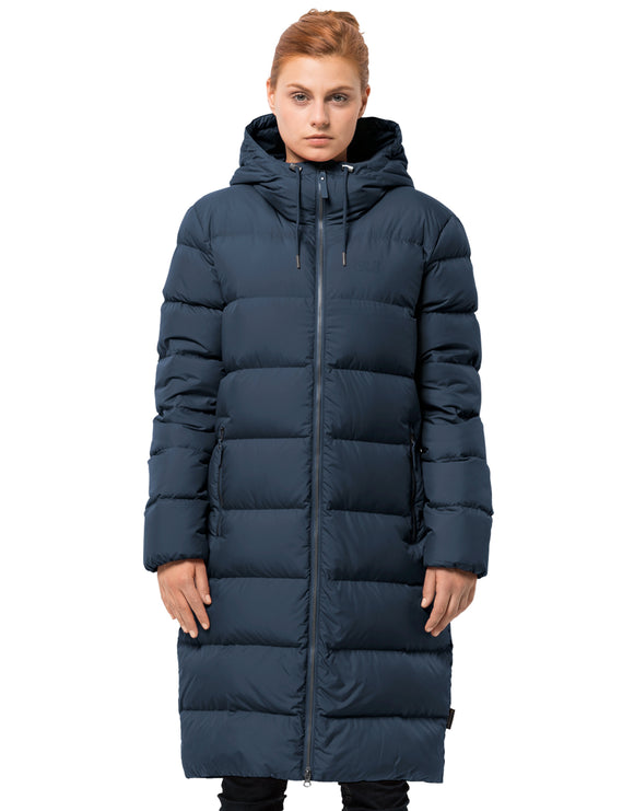 Jack Wolfskin Womens Crystal Palace Coat - Midnight Blue