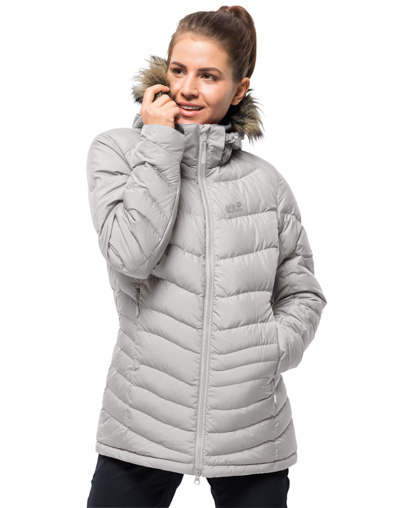 Jack Wolfskin Womens Selenium Bay Jacket - Grey Haze