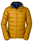 Jack Wolfskin Mens Helium Jacket - Golden Yellow