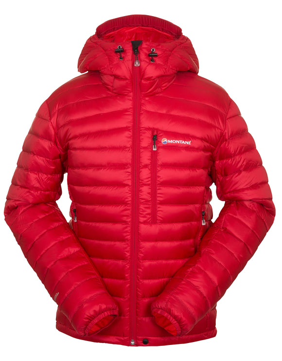 Montane Mens Featherlite Down Jacket - Alpine Red