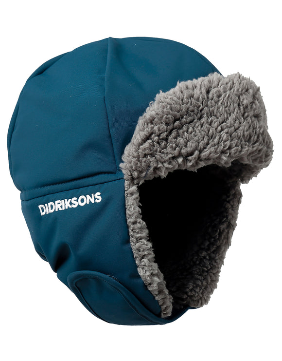 Didriksons Kids Biggles Cap - Hurricane Blue