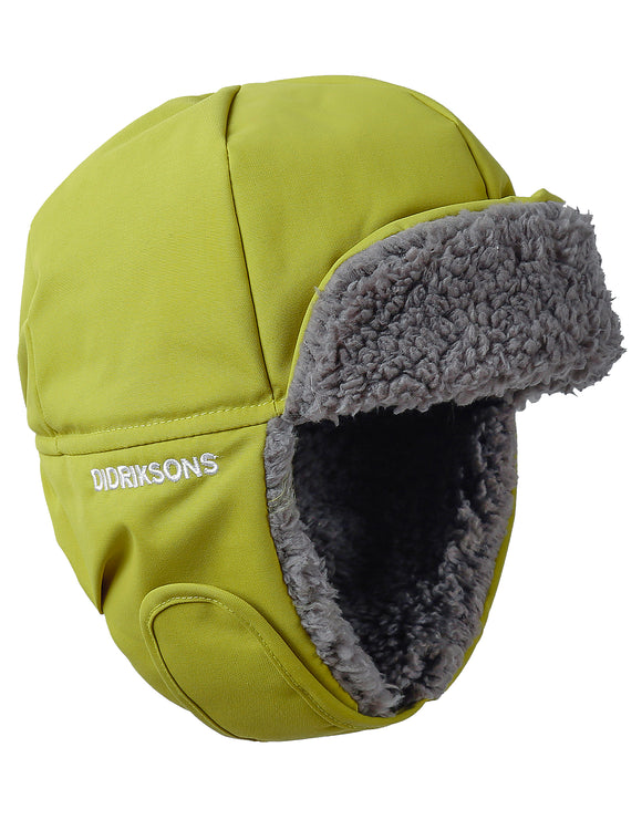 Didriksons Kids Biggles Cap - Seagrass Green