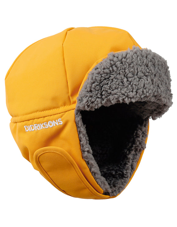 Didriksons Kids Biggles Cap - Oat Yellow