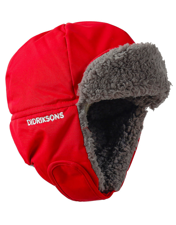 Didriksons Kids Biggles Cap - Chili Red