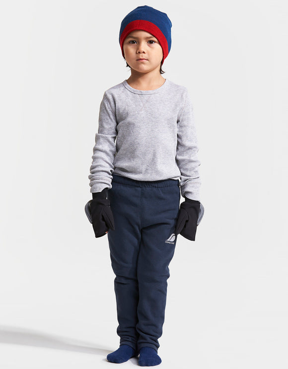 Didriksons Kids Monte Microfleece Trousers - Navy