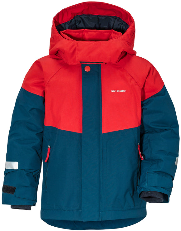 Didriksons Kids Lun Jacket - Hurricane Blue