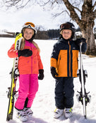 Jack Wolfskin Kids Powder Mountain Ski Pants - Pink Fuchsia