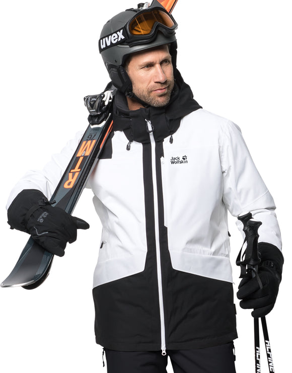 Jack Wolfskin Mens Big White Ski Jacket - Black