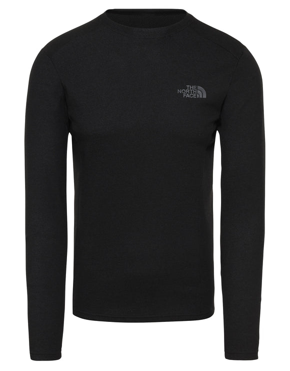 The North Face Mens Easy LS Crew Neck Base Layer - TNF Black