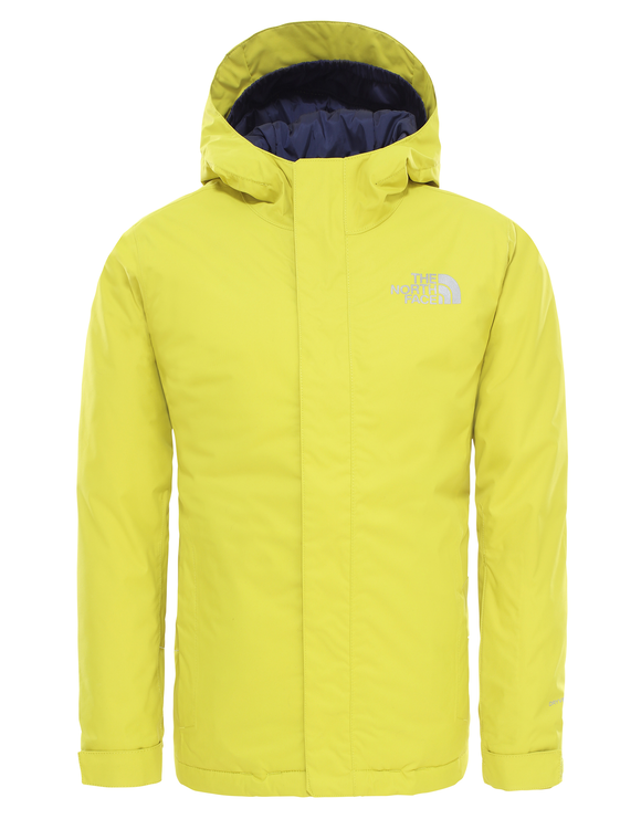 The North Face Kids Snowquest Jacket - Citronelle Green