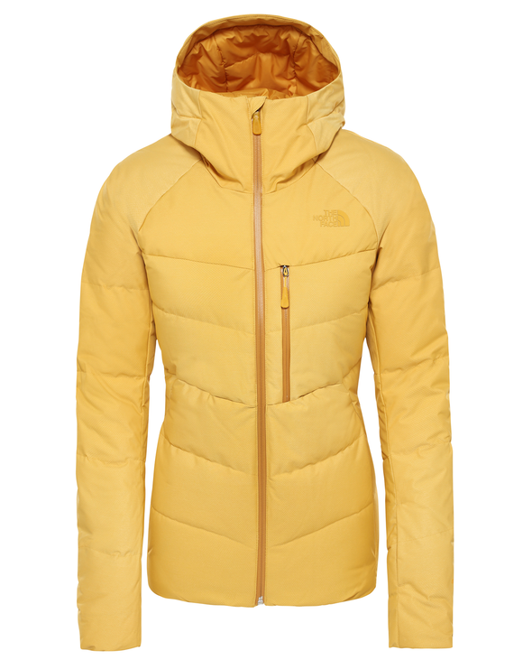 The North Face Womens Heavenly Down Ski Jacket - Golden Spice