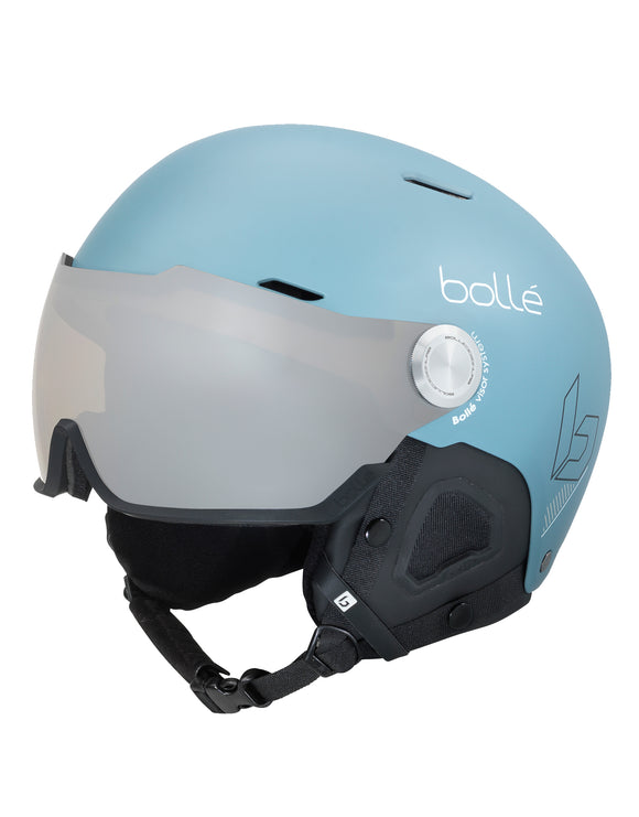Bolle Might Visor Ski Helmet - Matte Storm Blue