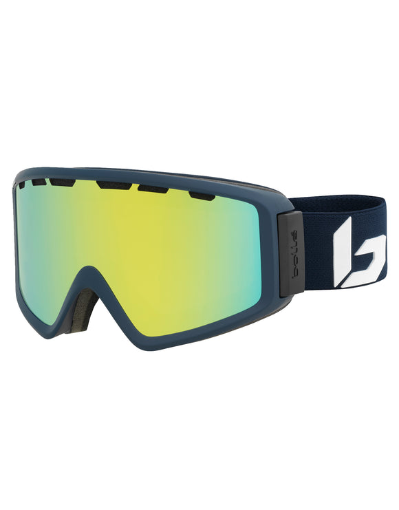 Bolle Z5 OTG Ski Goggle - Matte Blue Corp with Sunshine Lens