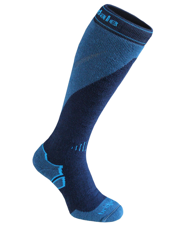 Bridgedale Mens Ski Midweight Plus Merino Endurance Sock - Navy Steel